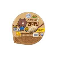 오뚜기 가뿐한끼 현미밥 30개입
