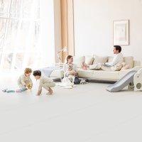 에시앙 숨쉬는 노틈매트 슈퍼와이드 (사이즈선택) / 층간소음 방지 유아 아기 폴더 거실 놀이방 매트
