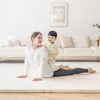 에시앙 숨쉬는 노틈매트 5단 (사이즈선택) / 층간소음 방지 유아 아기 폴더 매트