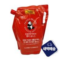 실온 오뚜기 팬더 굴 소스 스파우트팩 2kg 중국 식료품 업소용 식자재 도매 유통 쇼핑몰