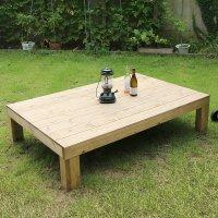 원목 야외 평상 테이블 마당 인테리어 벤치 3SIZE