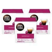 Nescafe 돌체구스토 에스프레소 커피 캡슐 16개입 3팩