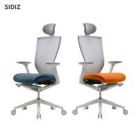 NEW 시디즈T50 T500HDA 화이트쉘 중고등학생 목받침 의자 게이밍 한샘책상의자