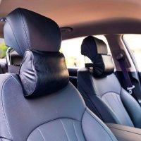 전성기 차량용 목베개 2EA 매니저베개 의자 차량용 목쿠션 헤드레스트 목받침