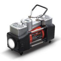 애디오토 듀얼실린더 자동차 공기압 체크 바람넣기 차량용 타이어 공기주입기 AD-C1000