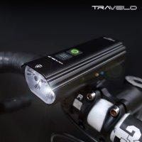트레벨로 문빔 1600루멘 자전거라이트 전조등