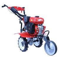 소형 미니 농업용 농기계 텃밭 로타리 작업 4행정 가솔린 엔진 7마력 화스단 관리기