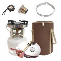 동성 해바라기버너 세트 / 1005 3KG가스통 LPG 바람막이 링가드 윈가드 가방