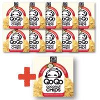 세부 큐오큐오 코코넛칩 10개+1개 40g 눈금 어린이 영양간식