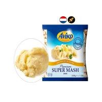 대용량탑차 아비코 감자튀김 프리미엄 슈퍼매쉬(버터,밀크함유) 6박스