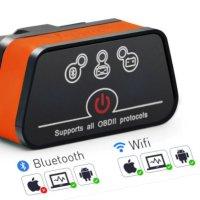 자동차 스캐너 Vgate iCar2 OBD2 차량 점검 진단기 블루투스 WIFI 지원