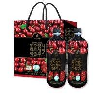 자연에온 몽모랑시 타트체리 착즙 주스 1L 2개입 선물세트 꿀잠주스