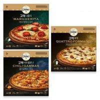 고메 나폴리마르게리타, 바르셀로나칠리감바스, 로마콰트로포르마지 피자