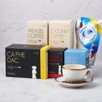베트남 이츠이츠 커피 카페쓰어다 연유 아메리카노카페다 위즐 코코넛카푸치노 분쇄원두 모음전