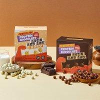 프로틴톡 프로틴 초콜릿 1통 + 요거트맛 1통 (총 10봉지) / 프로틴 초코볼