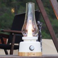 모닥 스노우플레이크 랜턴 감성 무드등 LED 스탠드 충전식 캠핑용 랜턴