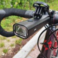 엠모터스 M400 400루멘 자전거 전조등 로드용 고프로 가민브라켓 호환 MTB 로드 전기 자전거