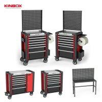 [KINBOX] 다용도 이동식 공구함 공구대 다이 공구박스 최고의품질 스테인리스