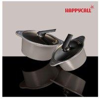 해피콜 아르마이드 IH냄비 2종세트(20cm,24cm) 라이트그레이 인덕션가능
