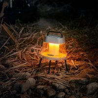 크레모아 아테나 랜턴 감성 캠핑등 조명 충전식 LED 작업등 차박 텐트 실내 모기 퇴치 아테네 캠핑용 램프 전등 실내 불멍