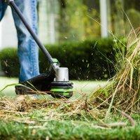이고파워 충전식 무선 전기 줄날 긴풀 예초기 제초기 잔디깍는 벌초 기계
