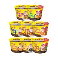 오뚜기 국물컵밥 기획(톡톡김치알밥 외)