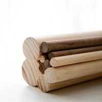 원형 목봉 재단 나무 봉 구입 미송 윌넛 마크라메목봉 목재