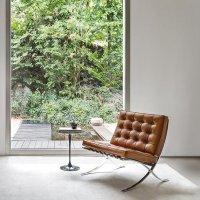 60컬러 미스반데어로에 바르셀로나 라운지 체어,호텔 카페 거실 디자인 의자 (커스텀제작)