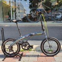 2021년 알톤 맥밀란S 7단 미니벨로 접이식 자전거 입문용 출퇴근 99%조립