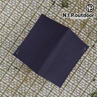 N.I.P 렉타타프 L 블랙코팅 사각타프 300D 블랙 아이보리 버건디 사이드월 옵션