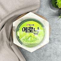 쿨아이스크림) 메로나빙수 1박스 [12개]