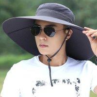 자외선차단 모자 여름 UV 햇빛 차단 썬캡 밭일 농사 농모 그늘막 모자