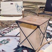 [매드독캠프] 라울 캠핑 폴딩 롤 테이블 경량선반 MD-6364T