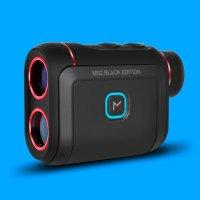 마이캐디본사 레이저 골프거리측정기 MS2 블랙에디션 원터치스캔