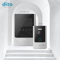 아날로그 비디오폰 인터폰 D4 (현관초인종포함)