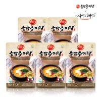 [송담추어탕] 추어살로 만든 송담추어탕 500gx5개 지친 나를 부탁해 / 보양식