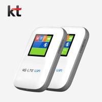 글로벌모바일 [패키지상품] KT 선불유심 + JT101 포켓와이파이 라우터 공기계