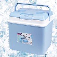 키친플라워 아이스박스 13리터 블루 미니냉장고 보냉 박스 백 차량용냉장고