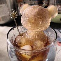 곰돌이 얼음틀 홈카페 엄마곰 아기곰 아이스몰드 얼음트레이 핫아이템