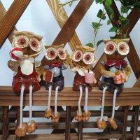 코돌이 풍수지리 인테리어 소품 행복한 부엉이가족4P 카페개업 집들이선물