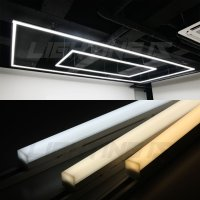 LED 사각 라인 레일조명 일자등