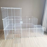 DIY 반려동물 울타리 케이지 하우스 만들기