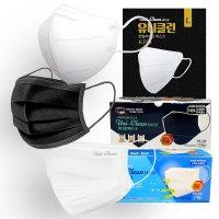 유니클린 국산 KF94 마스크 새부리형 보건용 귀안아픈 대형 선물용마스크세트