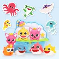 [핑크퐁] 목욕놀이 모음전 - 목욕 스티커, 버블토이, 물총, 물놀이 장난감