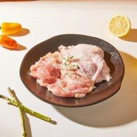 브라질산 냉동 닭정육 뼈없는 순살 닭갈비용 닭다리살 2kg