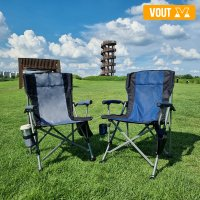 보우트 하중 300kg 캠핑의자 낚시 접이식 의자