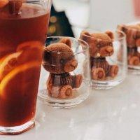 홈카페 곰돌이 얼음틀 세트 초콜렛 비누 캔들 왕얼음 실리콘 몰드