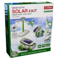 태양광 친환경 에너지 조립형 로봇 장난감 교육용 완구 / 성취감 과학의날 GQ