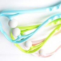 골프공 목안마기 마사지기 스트레칭 뒷목 경추 목운동 안마봉