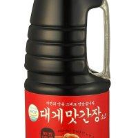 비비푸드 대게맛간장소스 1.8L